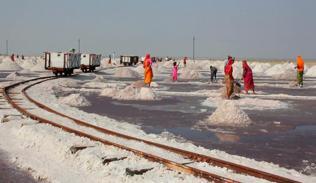 , SALT PRODUCTION TRAIN TOUR, THE SAMBHAR HERITAGE, THE SAMBHAR HERITAGE
